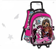 Monster High Школа Монстров Рюкзак на колесиках Монстер Хай