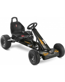 Педальная машина Go-Cart F1L black