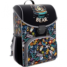 Ранец ErgoLine 15L Space Bear